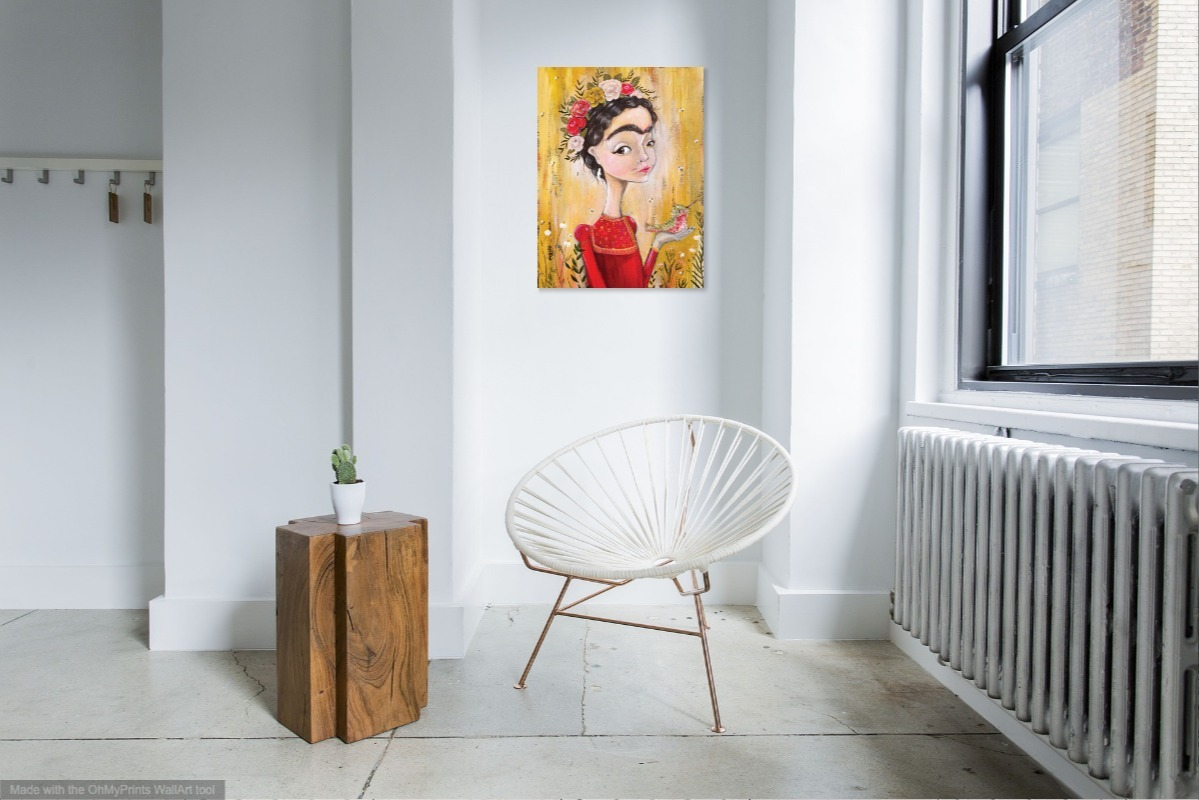 Frida at home