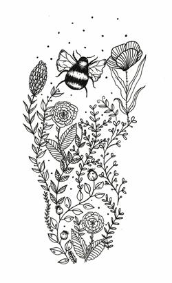 Kresba pro Tara Sandals – barefoot sandály